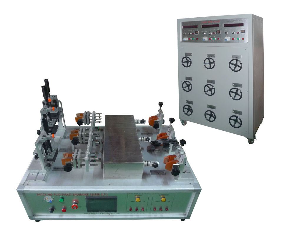 IEC 60884-1 Safety Test Equipment Plug Socket Switch Breaking Capacity  Normal Operation