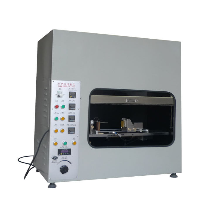 1kVA 220V 50Hz Glow Wire Test Apparatus With Chamber