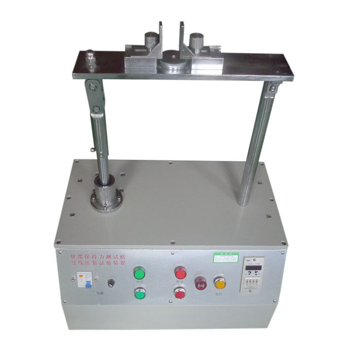 60 Times/min Soft Cable Retention Testing Apparatus Wire Crimping ...